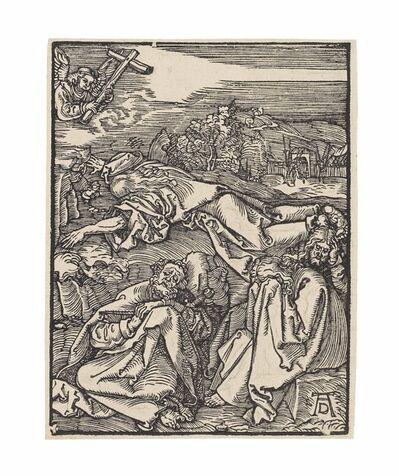 Albrecht Dürer, 'Christ on the Mount of Olives (B. 54; M., Holl. 162; S.M.S. 223)', ca. 1508-1509