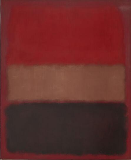 Mark Rothko, 'No. 46 (Black, Ochre, Red Over Red)', 1957
