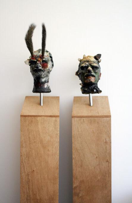 Steven Claydon, 'Mutt & Jeff (The Great Dictators)', 2004-2005
