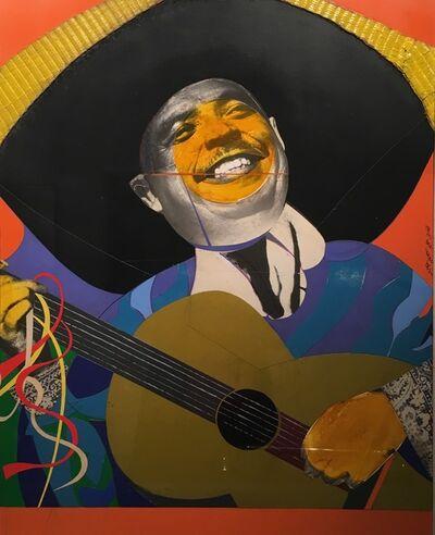 Romare Bearden, 'Mexican Guitarist', 1965-1970