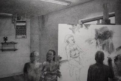David Becker (b.1937), 'Unruly Muse', 1997