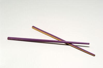 Marc Couturier, 'Baguettes pailles (straws chopsticks)', 2006