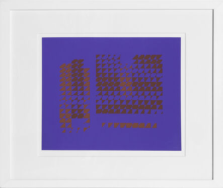 Josef Albers, 'Untitled from Formulation: Articulation', 1972