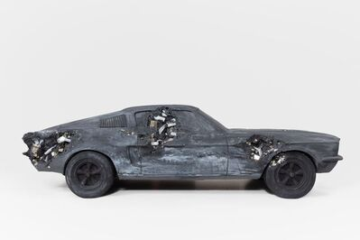 Daniel Arsham, 'Ash and Pyrite Eroded Mustang GT', 2021