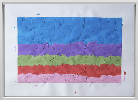 Rodrigo González Castellanos, 'Desgaste de la psicología del color, Anhelo', 2020