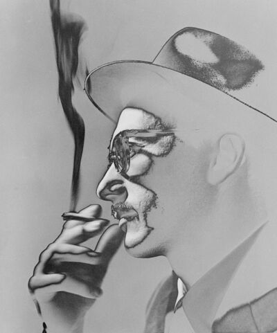 German Lorca, 'Smoker, 1954', year print 1970