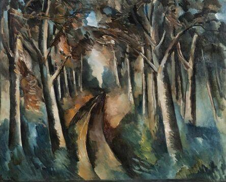 Maurice de Vlaminck, 'Bois à La Jonchère', 1912