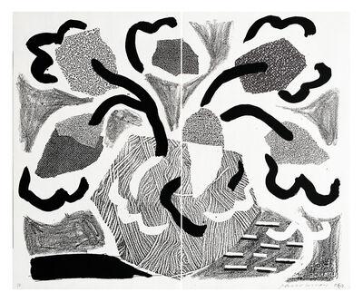David Hockney, 'Grey Blooms', 1986