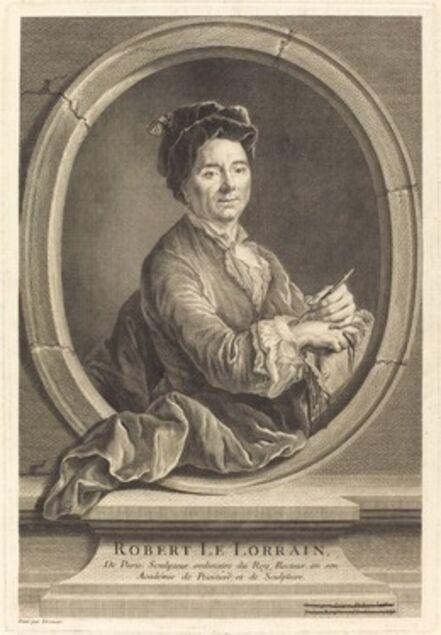 Jacques-Philippe Le Bas after Hubert Drouais, 'Robert le Lorrain', 1741