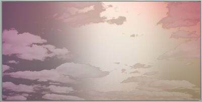 Miya Ando, 'Unkai (A Sea of Clouds) Faint Vermillion', 2020