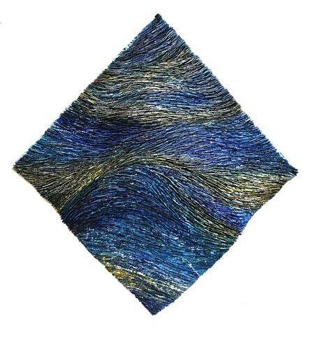 Pat McNabb Martin, 'Breaking Blue Freeform'
