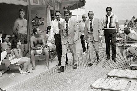 Terry O'Neill, 'Frank Sinatra on the Boardwalk', 1968