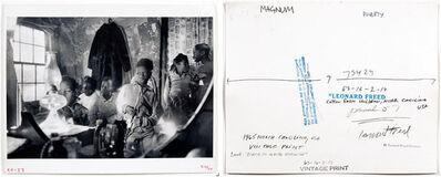 Leonard Freed, 'Cotton Farm Children, North Carolina USA, pl 50-51', 1965