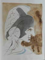 Salvador Dalí, 'Homage a Leonardo Condottiere', 1975