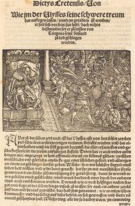Hans Weiditz, II, 'Page from Troianischen Kreig - Ausberg', 1536