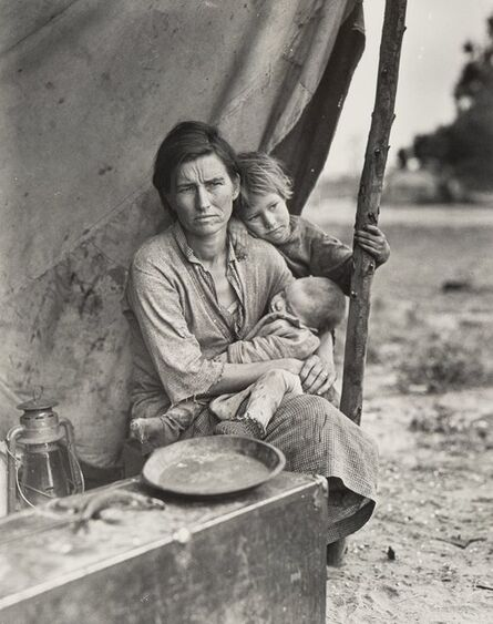 Dorothea Lange, 'Four Photographs of California in the 1930s (4 works)'