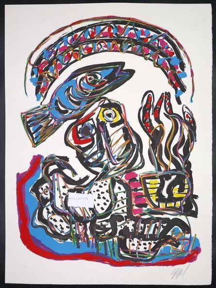 Karel Appel, 'Tantrika ', 1985