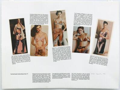Robert Heinecken, 'The Hite/Hustler Fashion Beaver Hunt #1', 1982