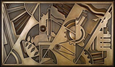 Roy Lichtenstein, 'Peace Through Chemistry Bronze', 1971