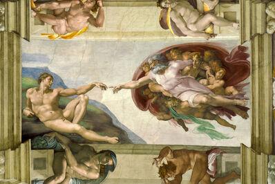 Michelangelo Buonarroti, 'Creation of Adam, Sistine Chapel ceiling', 1511-1512