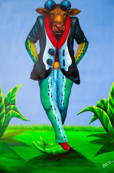 Bodo Fils BBM (M'Pambu Bodo Bodo), 'Vache folle ', 2020