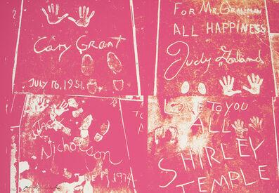 Andy Warhol, 'Sidewalk', 1983; published 1984