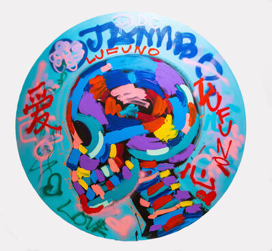 Bradley Theodore, 'Graffiti Skull', 2020