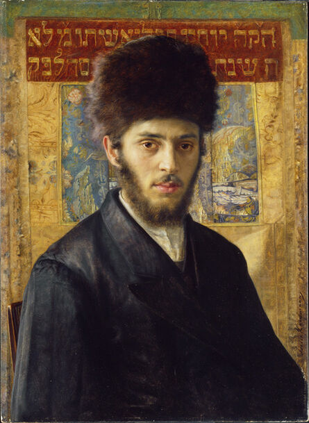Isidor Kaufmann, 'Young Rabbi from N', 1910