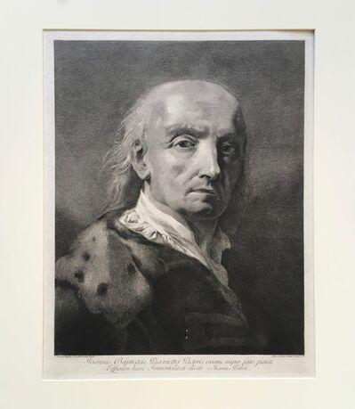 Marco Alvise Pitteri after Giovanni Battista Piazzetta, 'Self Portrait (GB Piazzetta)', ca. 1750