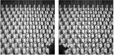 Jon McCallum, 'Diptych: Repeated Figure as Choir', 2014
