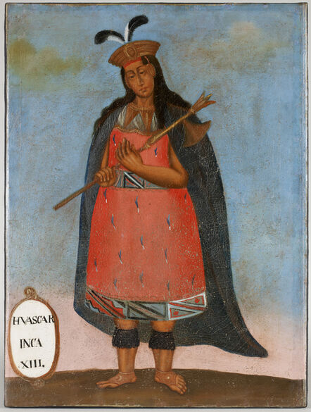 'Portrait of Huascar Inca XIII', 19th century