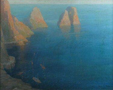 Hugh C. Tyler, 'Mediterranean Cove', ca. 1914