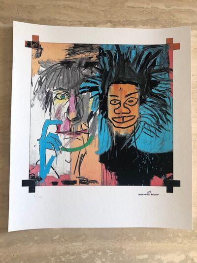 Jean-Michel Basquiat, 'Dos Cabezas (2 Heads) Repro - Basquiat & Warhol', Unknown