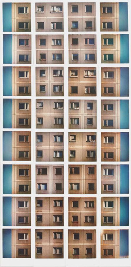 Anika Neese, 'Sozialistischer Plattenbau, Dekonstruktion - Contemporary, Conceptual, Polaroid, 21st Century, Berlin, City', 2017