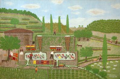 Giorgos Rigas, 'Blanket Processing', 1985