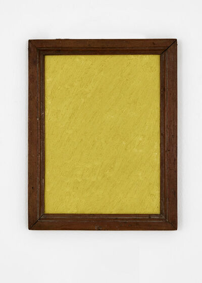 James hd Brown, 'One Color Painting #1 (Yellow)', 2019