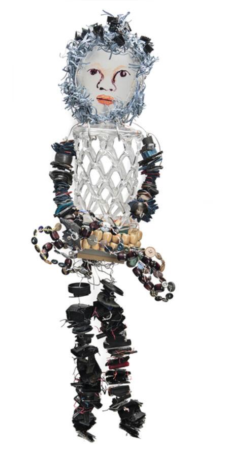 Marita Dingus, 'CAGE GLASS GIRL', 2015