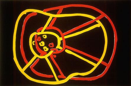 Joan Jonas, 'Double Wheel', 1982