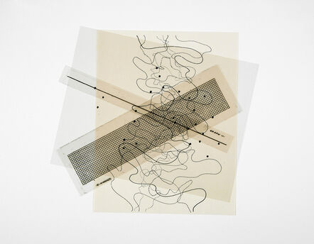 Robert Bean, '273 (brushing information against information)', 2011