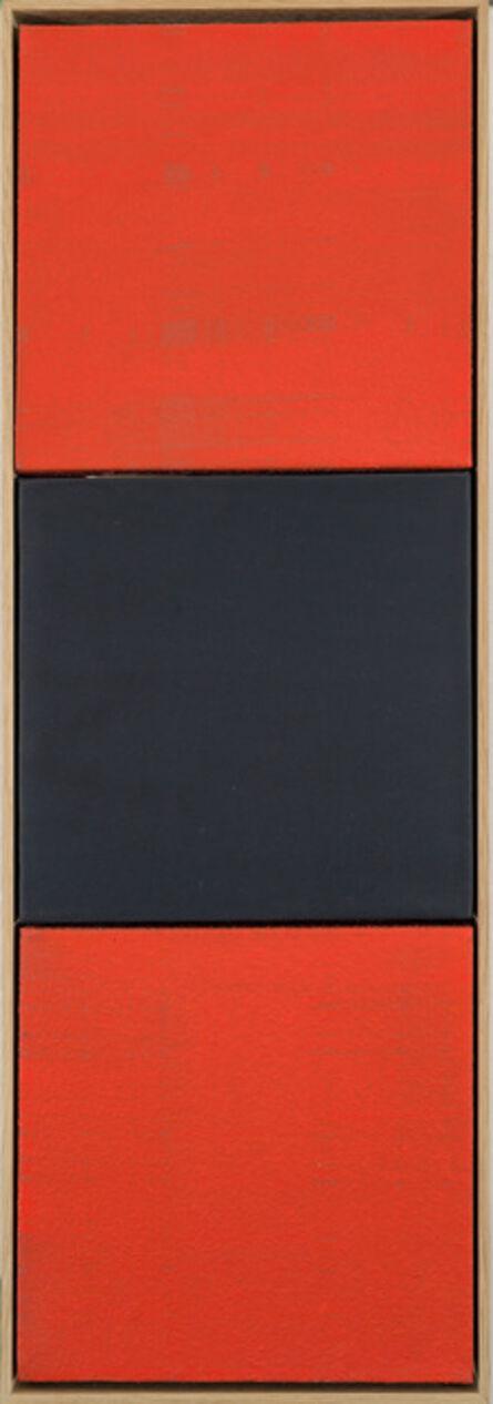 Manfred Mayerle, 'rot-schwarz-rot', 2014