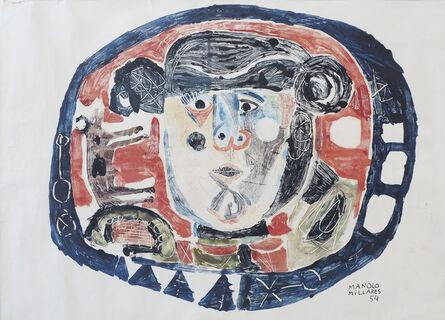 Manolo Millares, 'Untitled', 1954