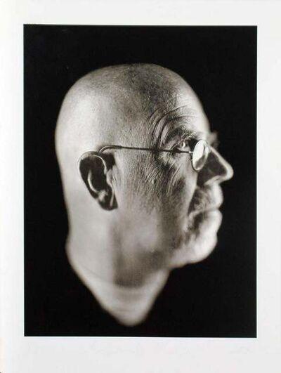 Chuck Close, 'Self Portrait', 2002