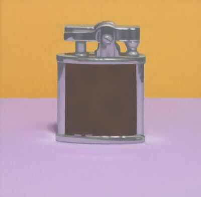 Harold Reddicliffe, 'Cigarette Lighter with Yellow Wall', 2015