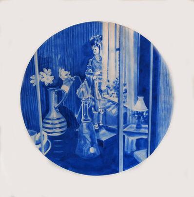 Kristina Bength, 'Cobalt; Ferromagnetic, Hexagonal, Close-Packed #10', 2017