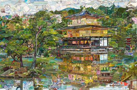 Vik Muniz, 'Postcards from Nowhere: The Golden Temple', 2015