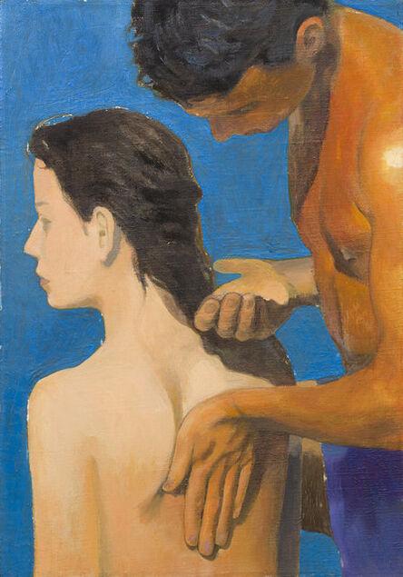 """Cecilia Edefalk, '""""En annan rörelse""""', 1990"""