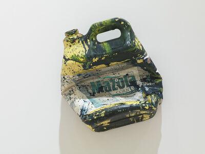 Dan Colen, 'Corn oil bottle', 2011