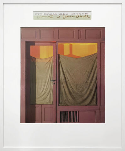 Christo, 'Purple Store Front', 1964/2001