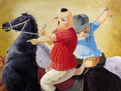 Zhang Jian Long, 'Playtime #17: Little Hunters'