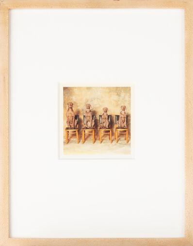 William Wegman, 'Look', 1989